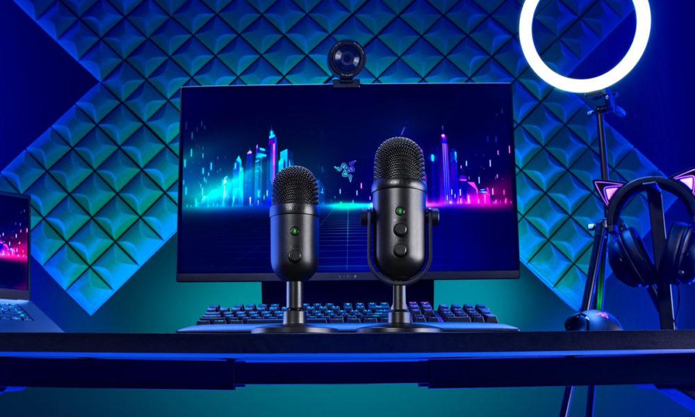 Razer Seiren V2 Pro y V2 X, streaming para todos los niveles