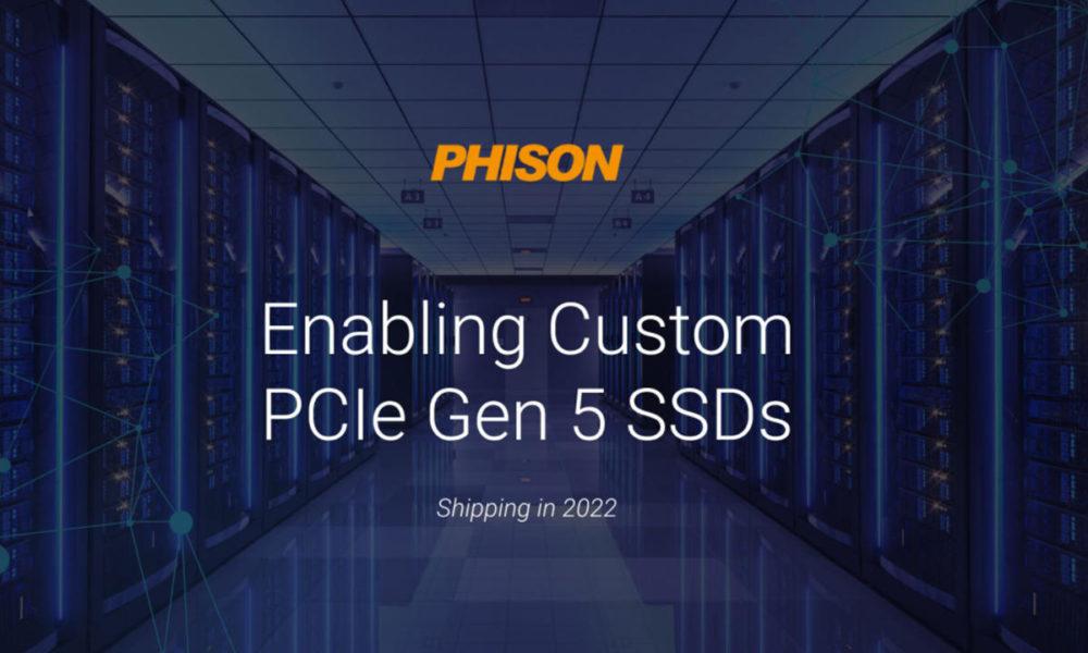 SSD PCIe Gen 5 está en camino para disponibilidad en 2022