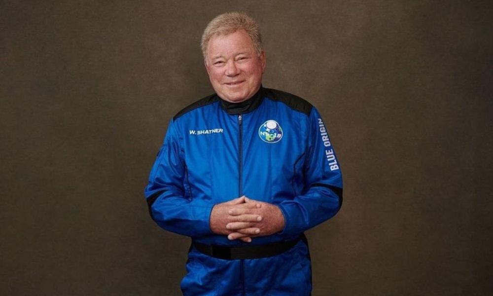 William Shatner viaja por fin al espacio con Blue Origin