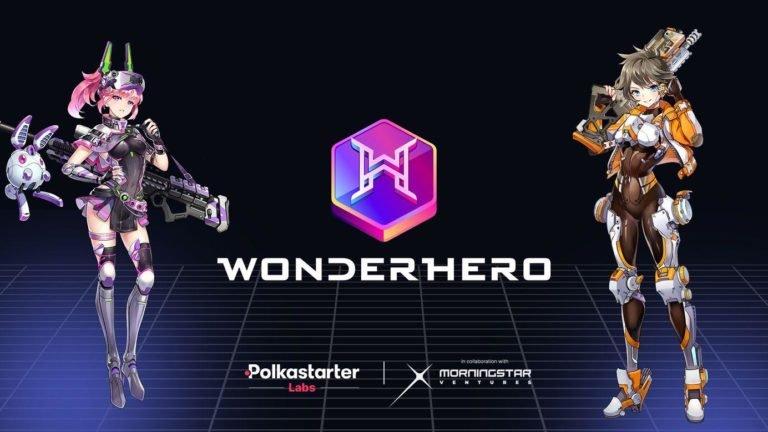 Polkastarter anuncia el juego NFT WonderHero como el primer proyecto completamente incubado