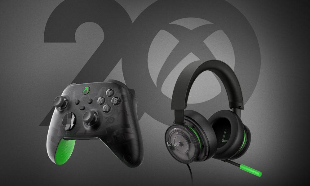 Xbox celebra su 20 aniversario con periféricos exclusivos