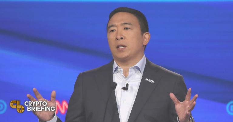 Andrew Yang quiere hacer de Forward Party el «Crypto Party»