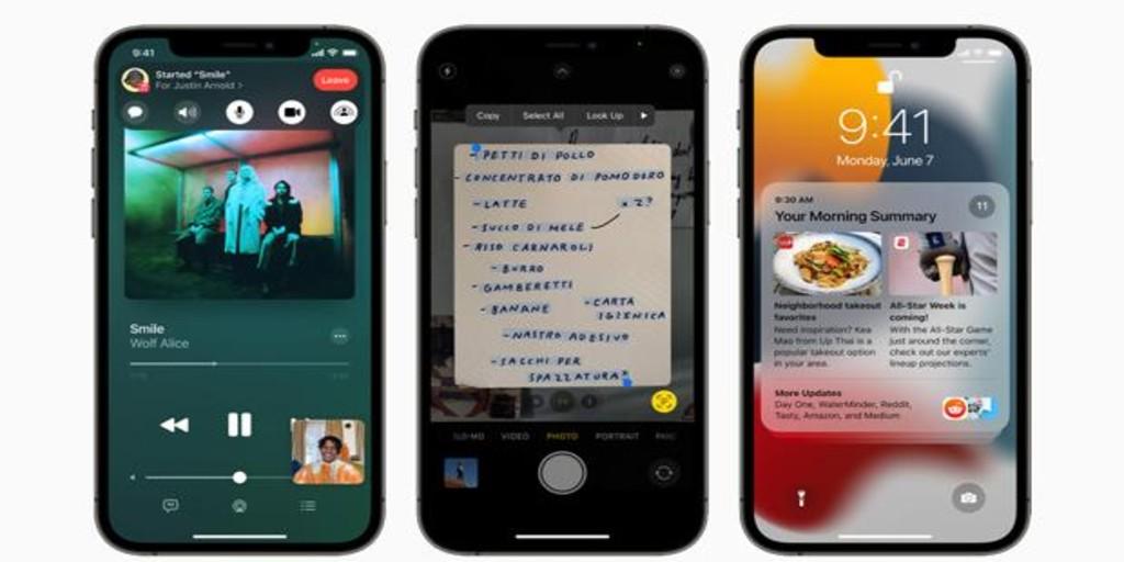 Así puedes transcribir, copiar y traducir un texto con iOS 15 desde la cámara del iPhone en un solo gesto
