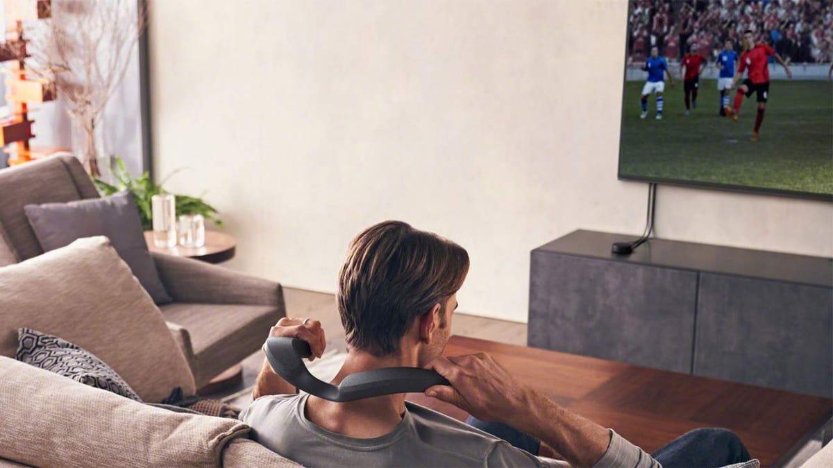 Sony lanza unos altavoces Dolby Atmos para el cuello