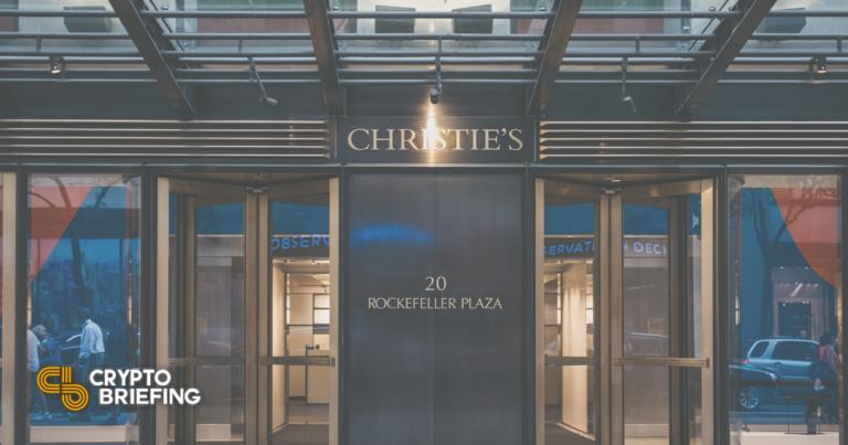 Beeple regresa a Christie's para vender una escultura de NFT