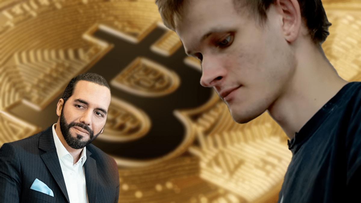 Vitalik Buterin rechaza la adopción de bitcoin impulsada por el Gobierno de El Salvador