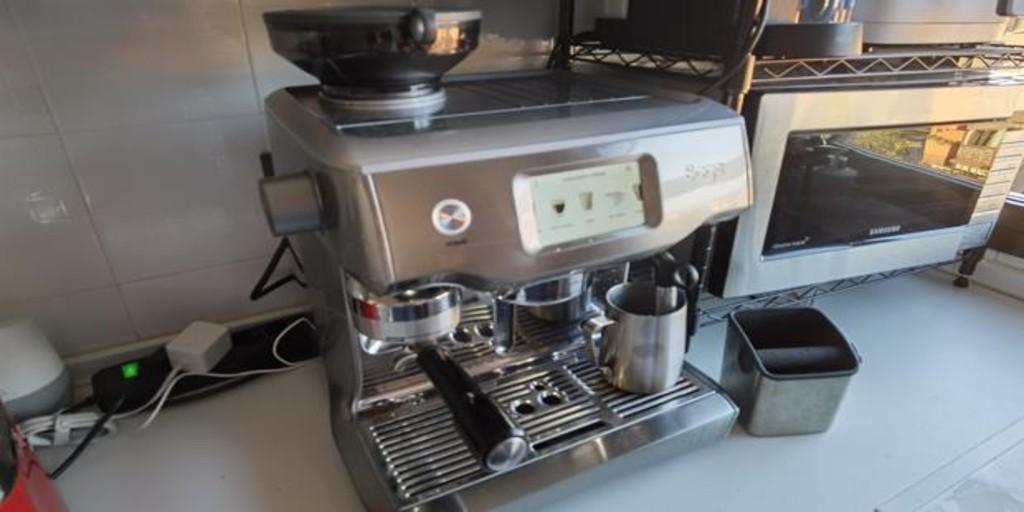 una cafetera igual que la de cualquier bar