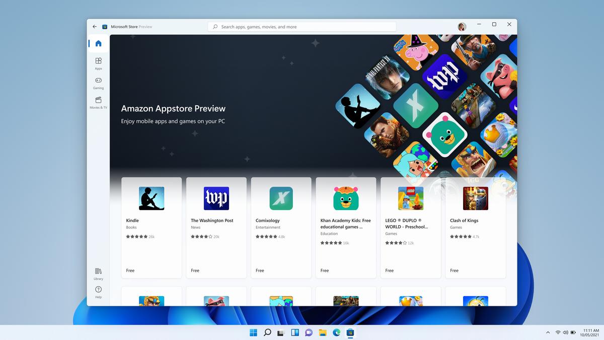 Ahora es posible probar aplicaciones Android en Windows 11