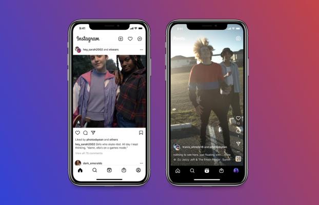 Instagram permite publicar entre dos autores y desde el escritorio