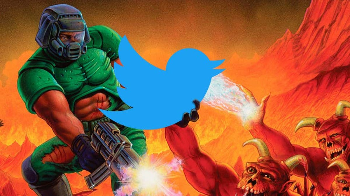 Jugar a Doom sin salir de Twitter