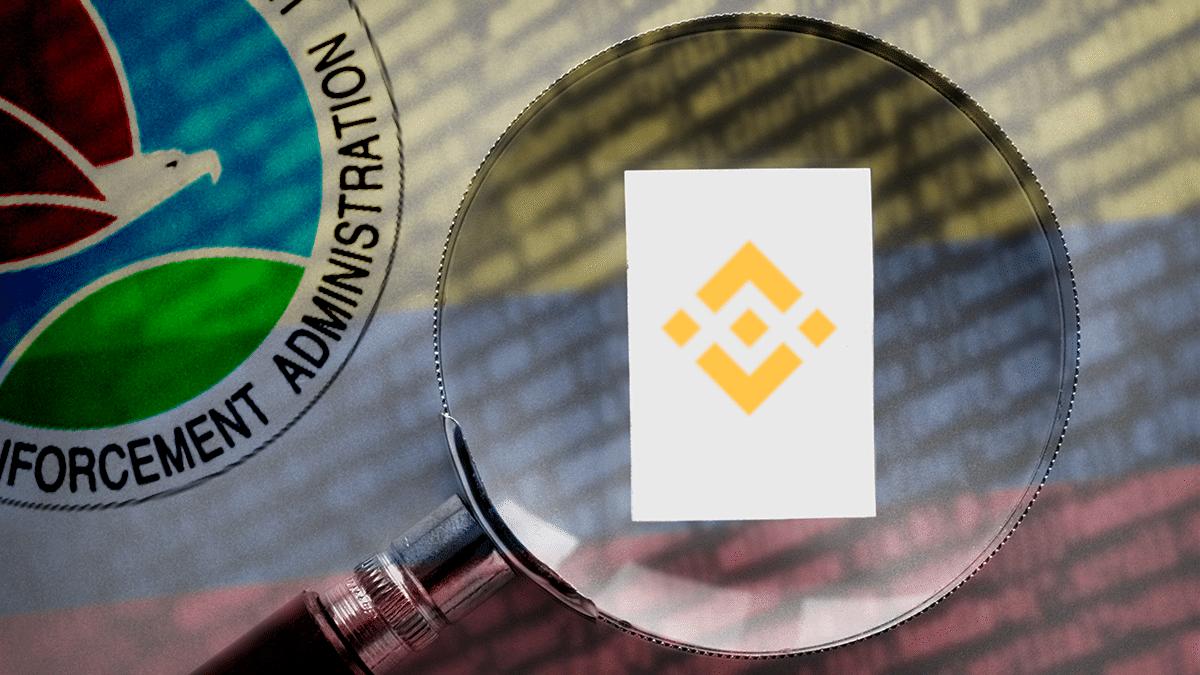 La DEA podría estar investigando los fondos bloqueados por Binance en Colombia