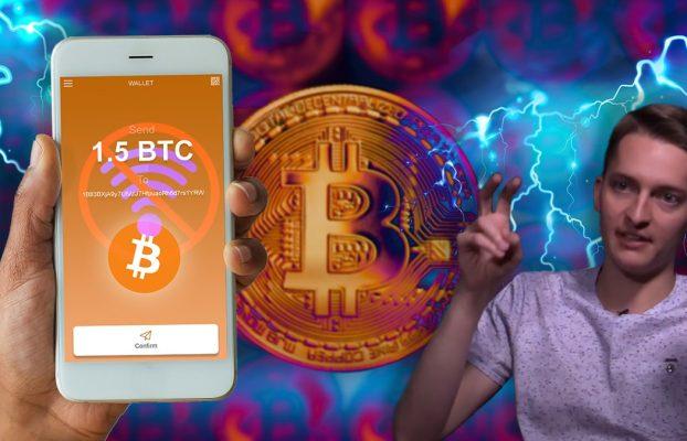 Enviar bitcoins de inmediato, sin custodia y sin internet, parece todo un desafío