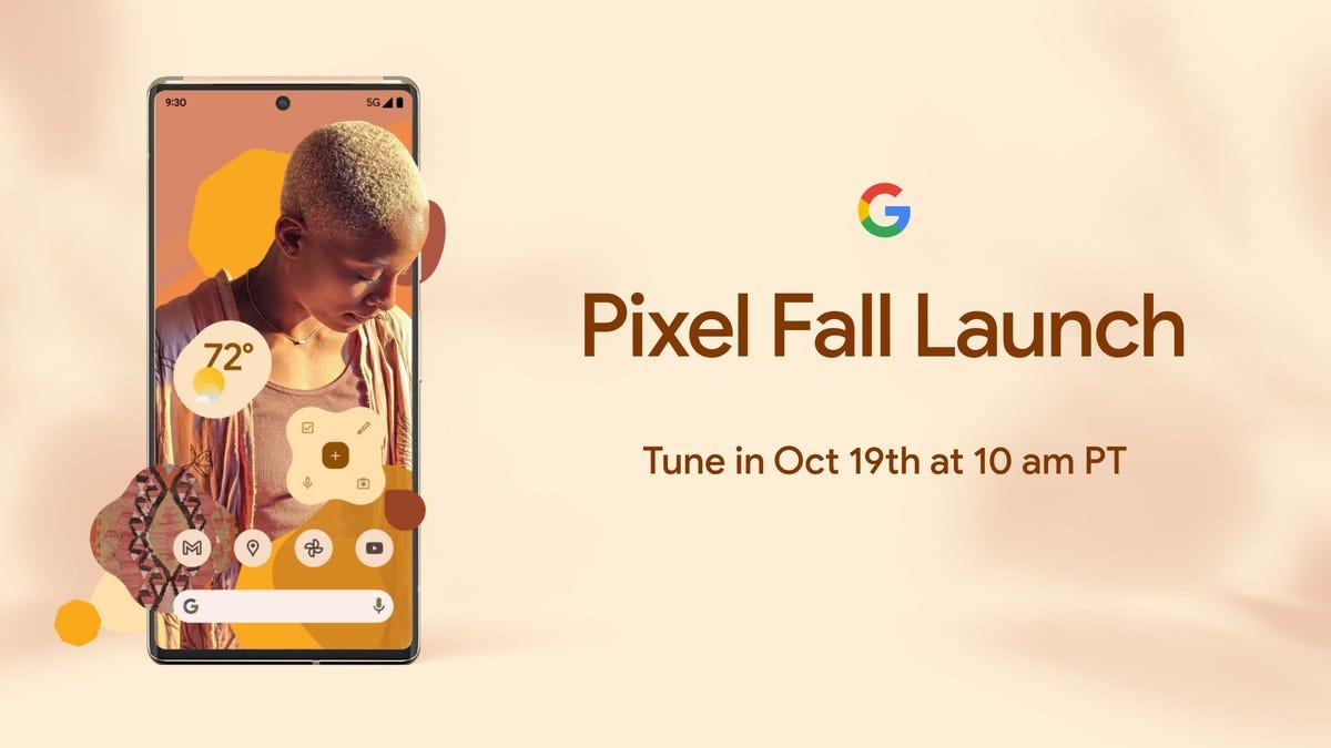 Google lanzará el Pixel 6, su primer teléfono con chip personalizado, el 19 de octubre