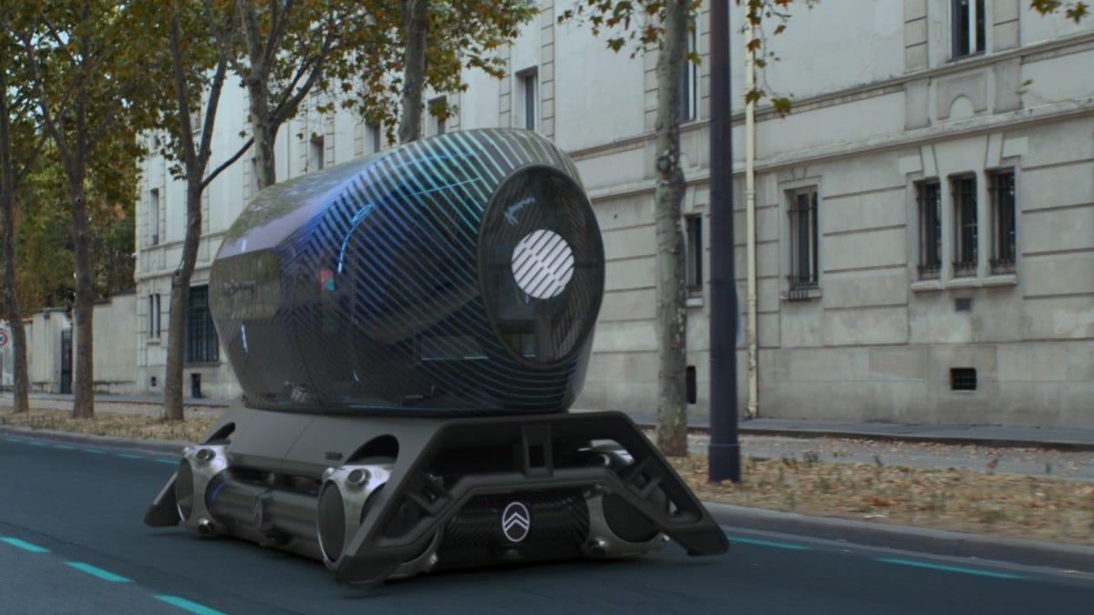 Citroen presenta robots autónomos para viajar por las ciudades