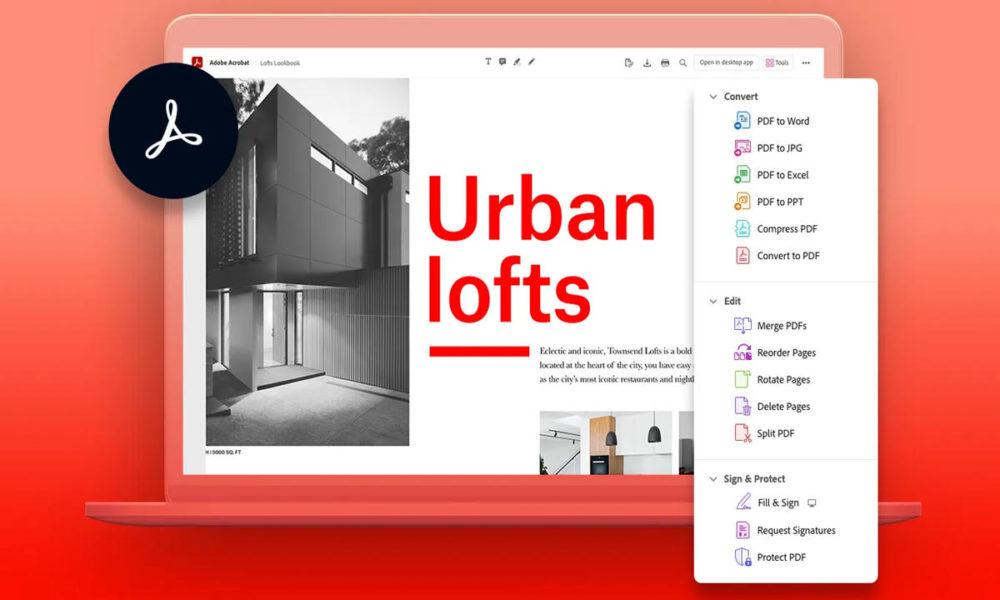 Adobe anuncia un editor de PDF gratuito para Chrome y Edge