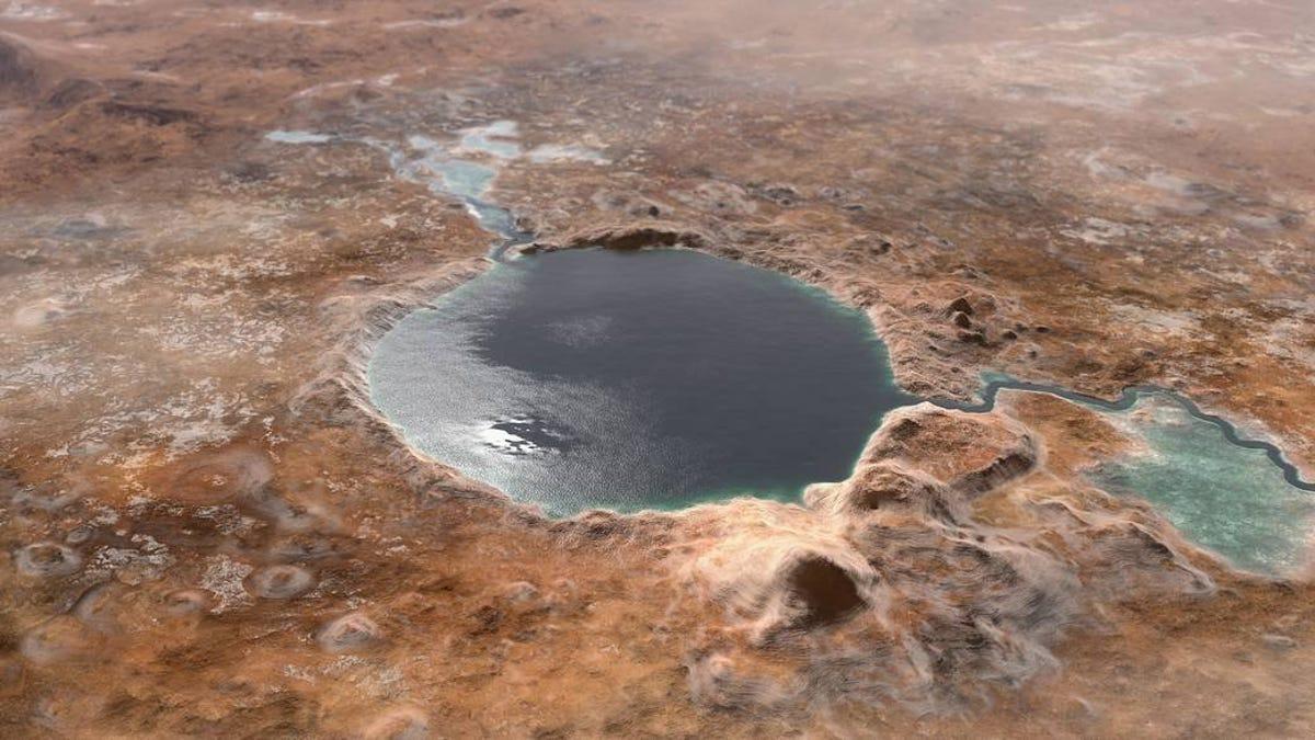 El rover Persevarance confirma un antiguo río en Marte