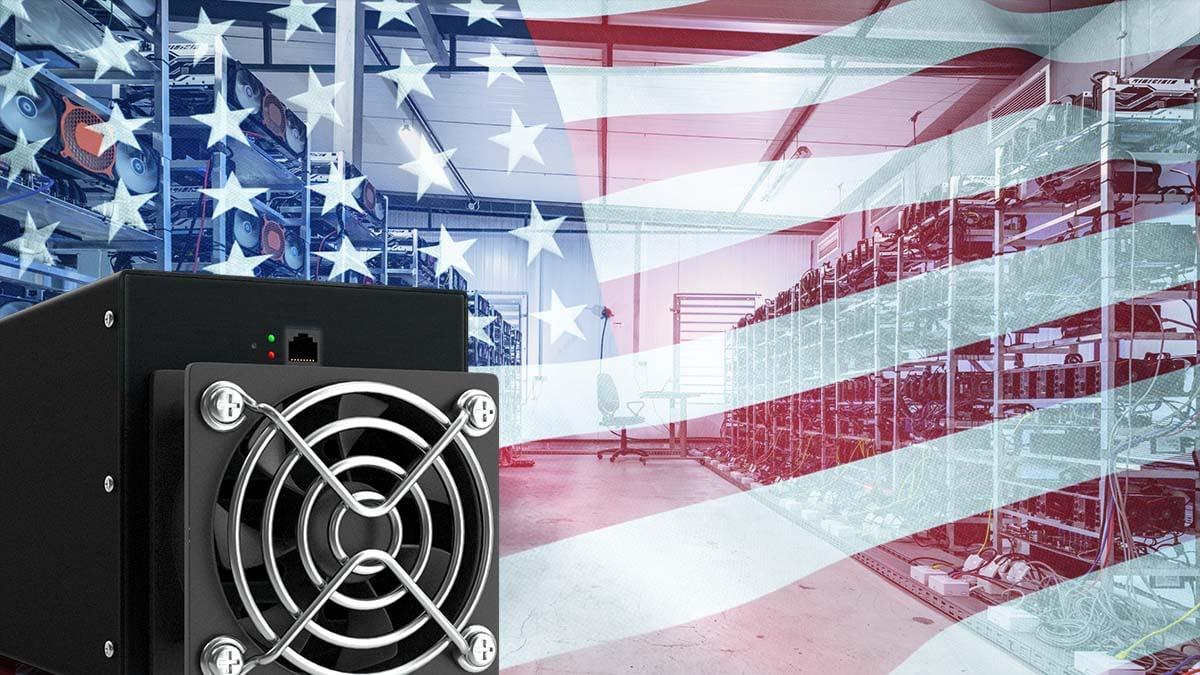 Estados Unidos desplaza a China y concentra el 30% de la minería de Bitcoin