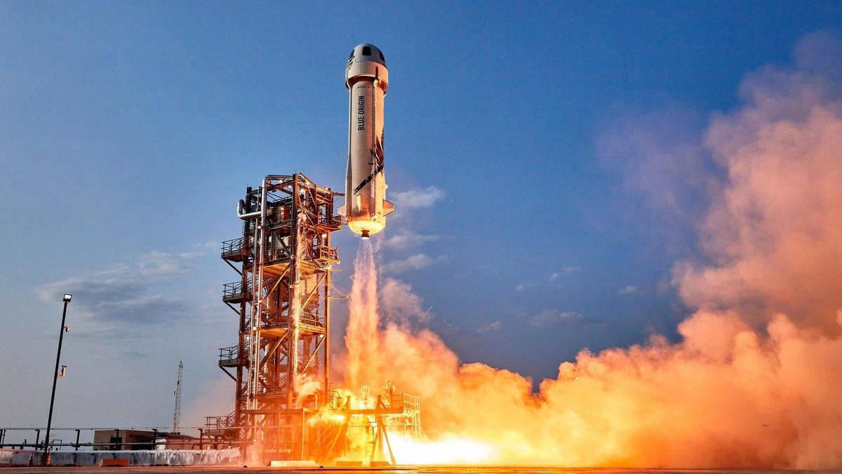 William Shatner viajó al espacio en la misión de Blue Origin