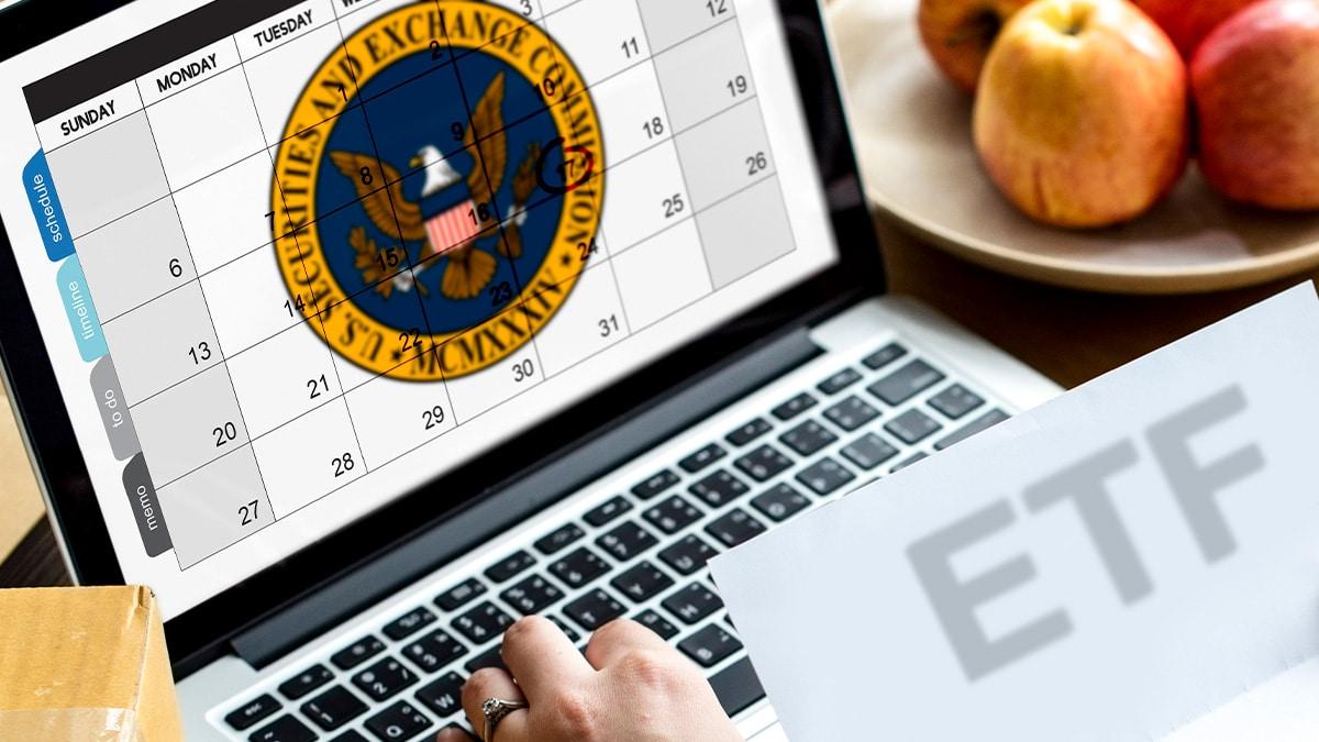 Estas son las fechas clave de los ETF de bitcoin que esperan por aprobación de la SEC