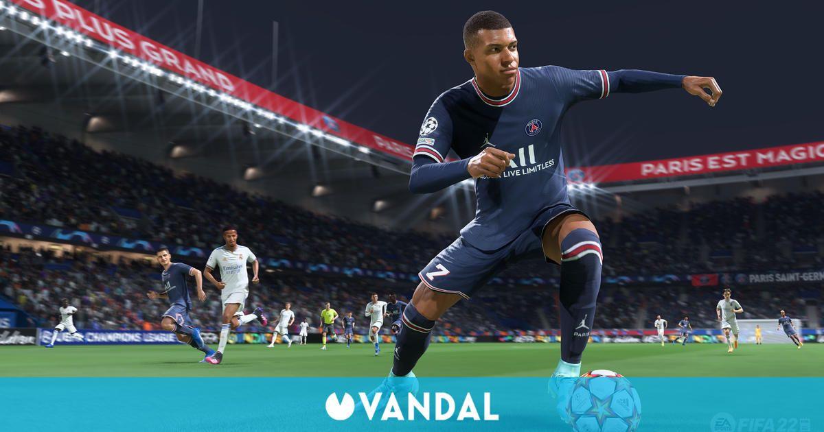 FIFA 22 vendió más de 120.000 unidades en su primera semana a la venta en España
