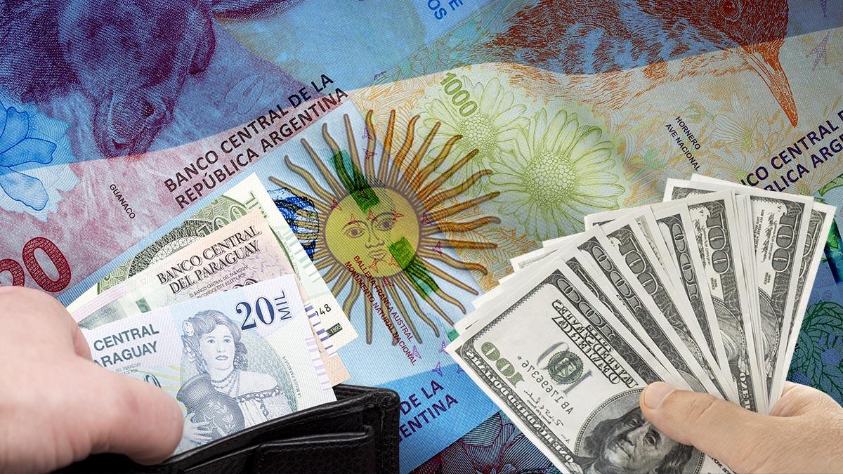 ¡Chau al dólar blue! En Misiones se compra guaraní por la devaluación del peso