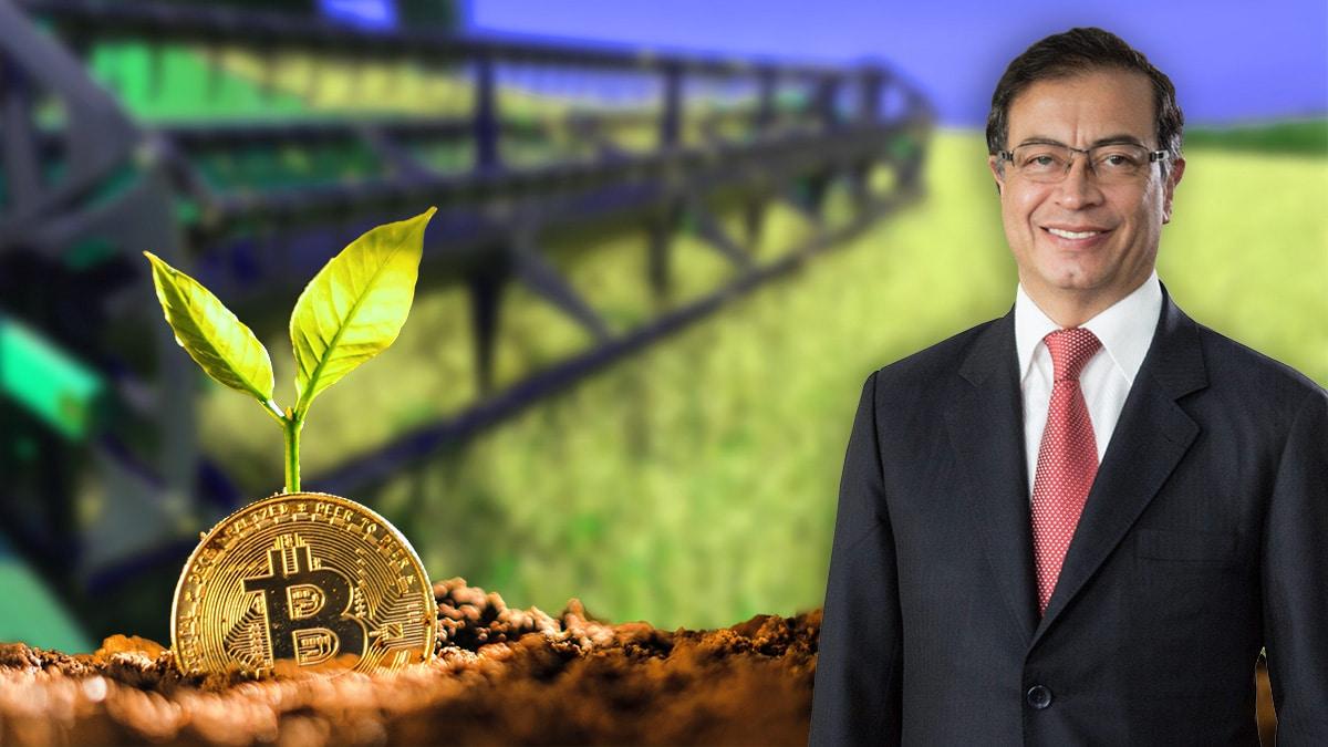 Producir bitcoin en lugar de cocaína, esa es la propuesta de Petro para Colombia