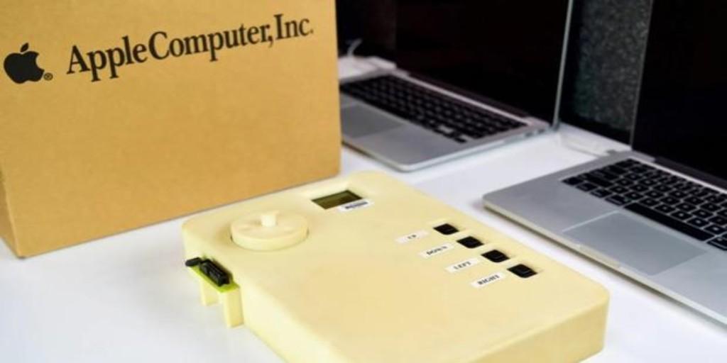 Así era el prototipo del iPod, tenía el tamaño de un MacBook de Apple