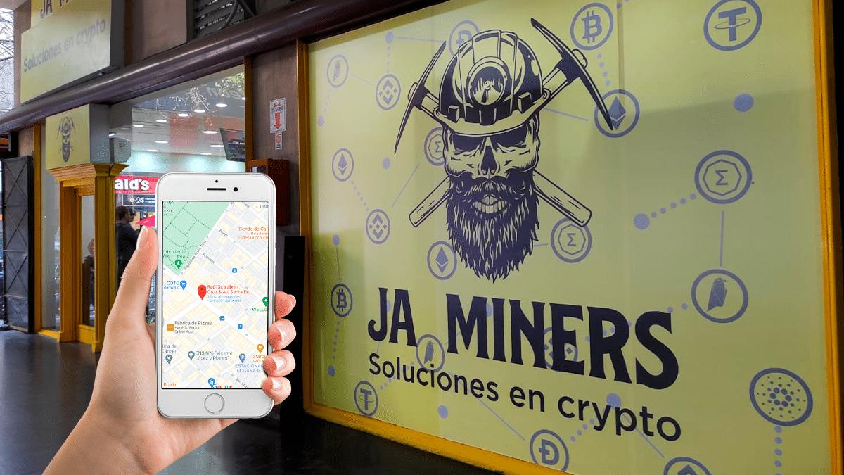 el «búnker de Bitcoin» de La Plata abre local en Buenos Aires