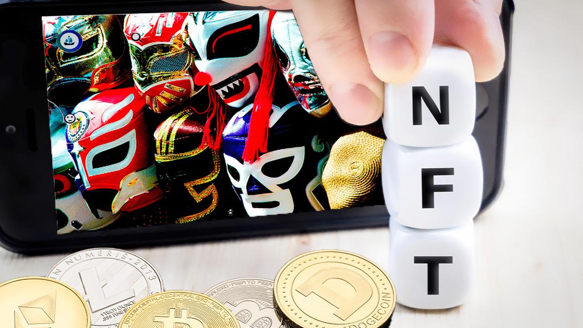 Lucha libre de México se sube al ring de las criptomonedas y los NFT
