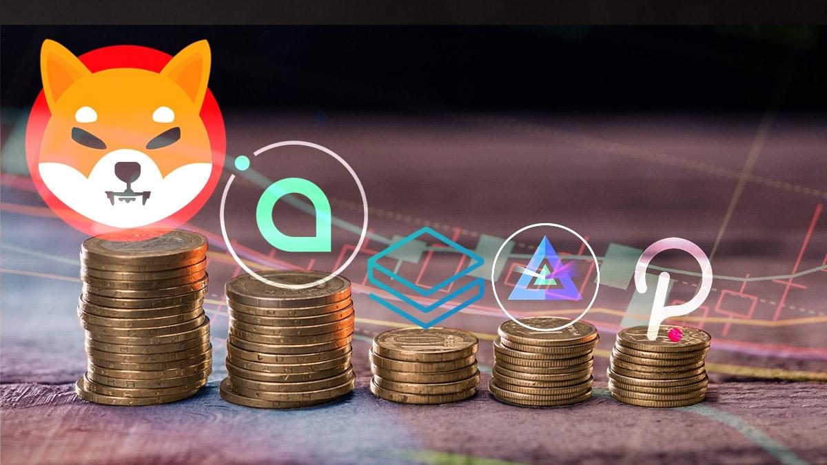Shiba Inu y Siacoin son las primeras esta semana, bitcoin impulsa el mercado