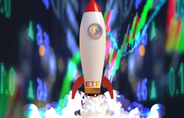 primeros ETF de bitcoin impulsan nuevo récord de precio