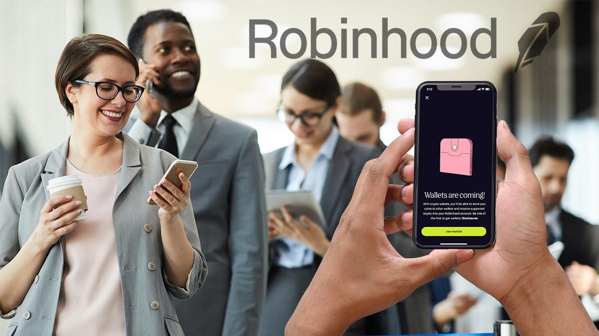 1 millón de personas están a la espera del monedero para bitcoin de Robinhood