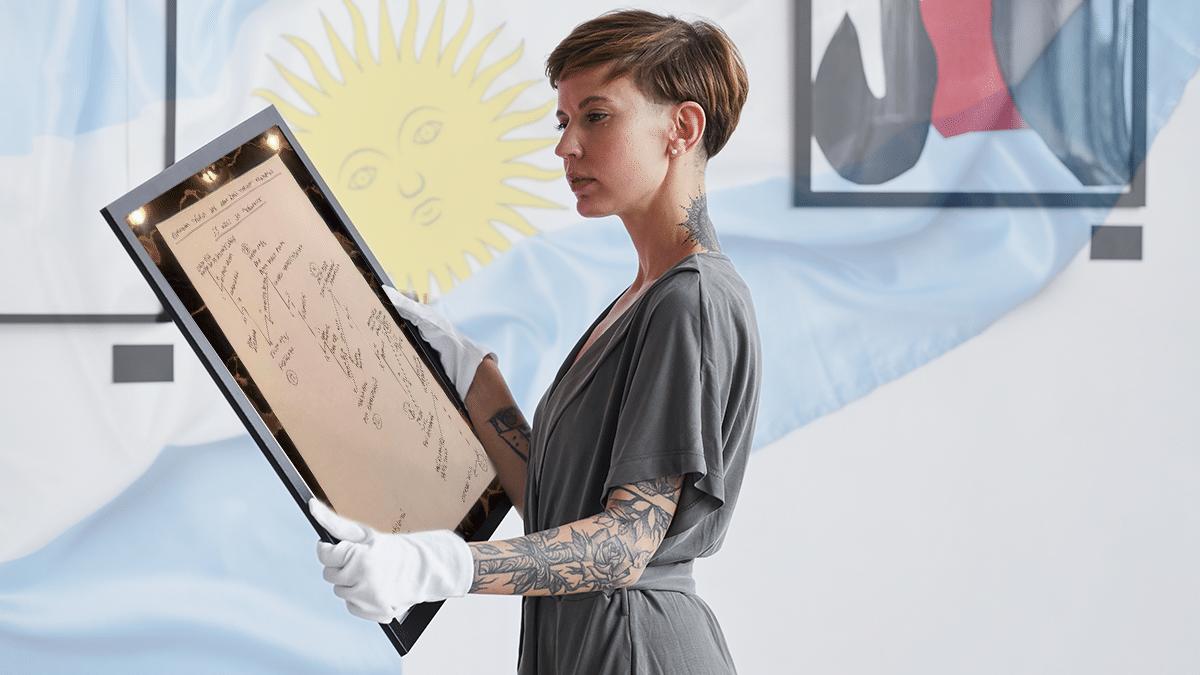 NFT sobre el deterioro de la economía argentina se vendió a casi USD 5.000