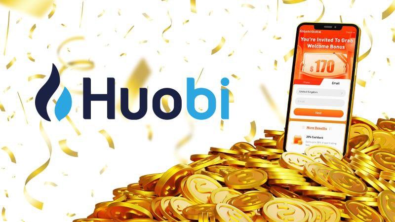 Los nuevos usuarios de Huobi Global pueden disfrutar de un bono de registro de $ 170