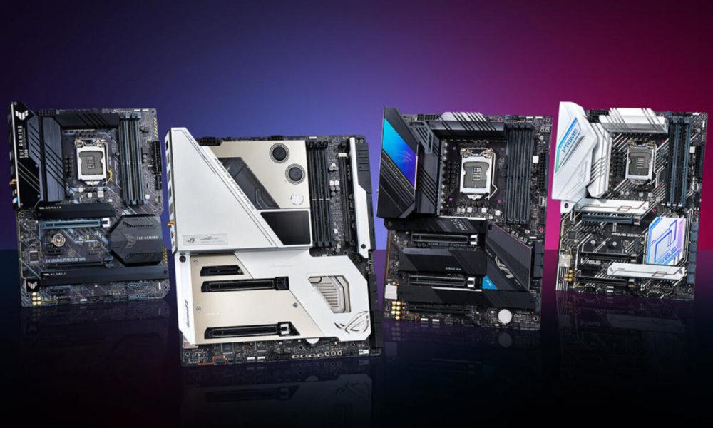 Placas base ASUS para las CPUs Intel Alder Lake, filtradas