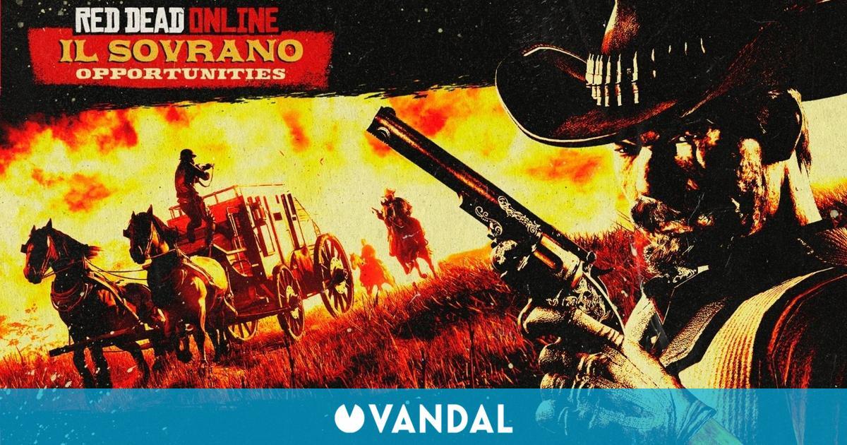 Red Dead Online: Doble de recompensas por robar Il Sovrano, bonificaciones y mucho más