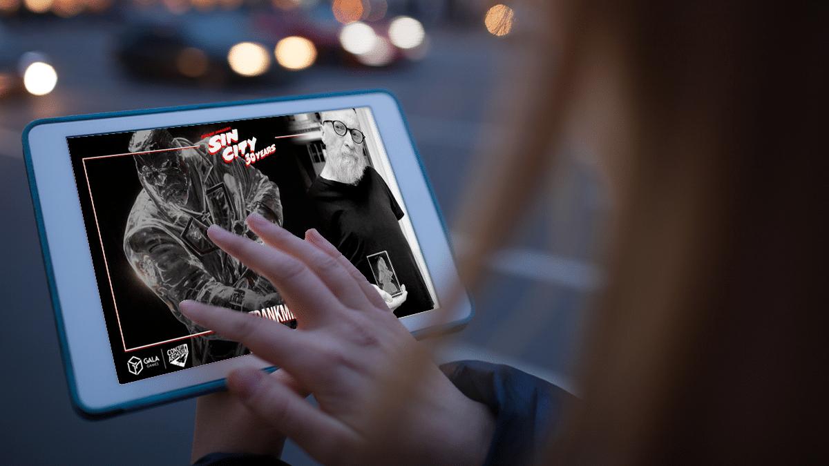 Un NFT de Sin City es la obra de arte más cara vendida por Frank Miller