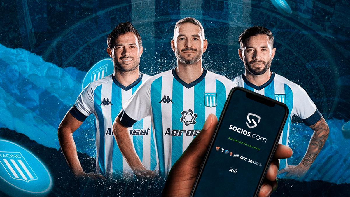 Racing Club de Argentina tendrá su fan token en Socios.com