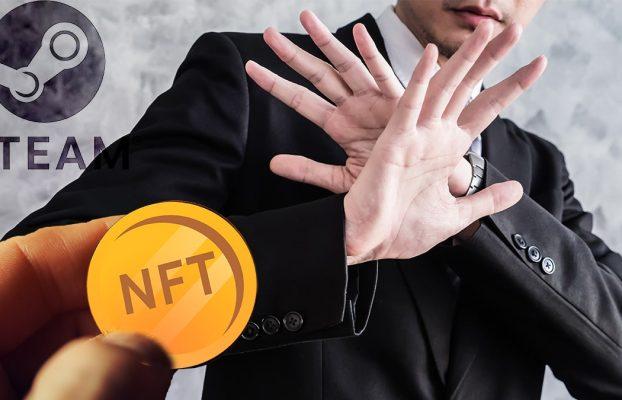Videojuegos con criptomonedas o NFT no son bienvenidos en Steam