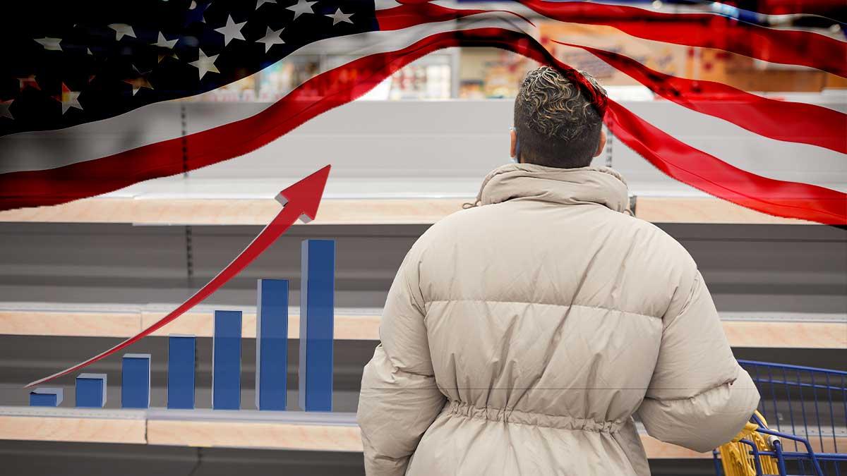 Inflación en EE. UU. llega a niveles de la crisis financiera de 2008